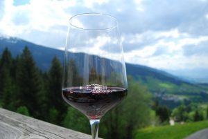 Ich bin kein Winzer, aber der Heidelbeerwein schmeckt. alle Bilder: (C) Florian Warum
